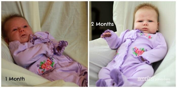 Eva Joy 1-2 Months