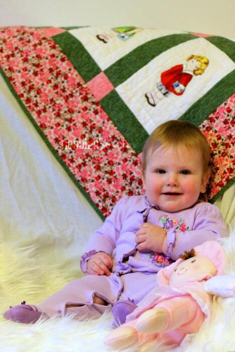 Eva Joy 10 months old