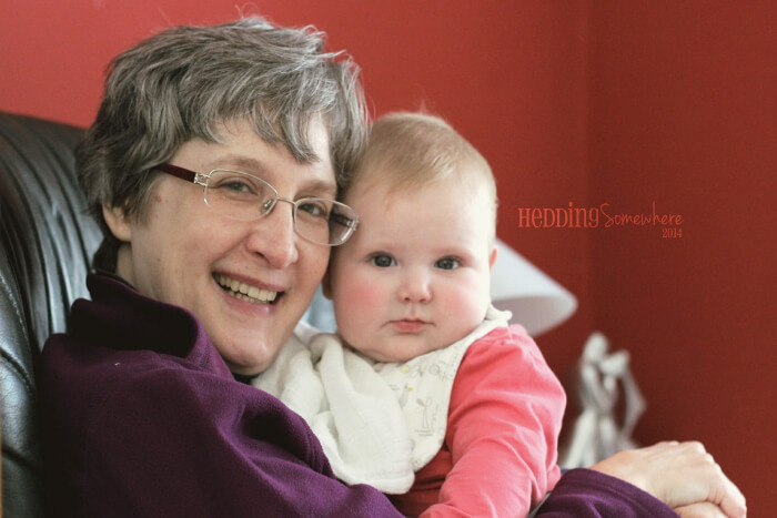 Grandma and Eva Joy